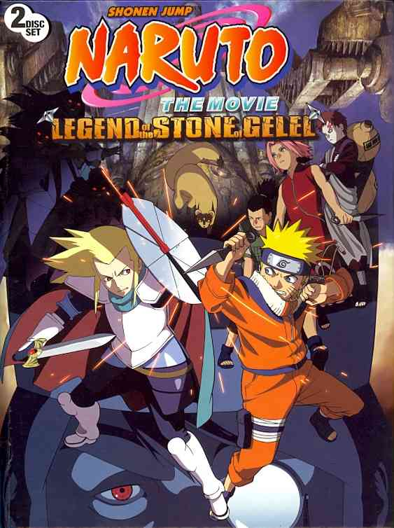 NARUTO:MOVIE:LEGEND OF THE STONE OF G BY NARUTO (DVD)